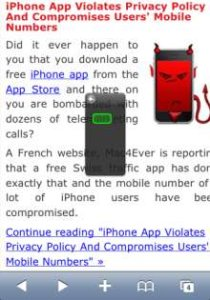 QuickScroll – Jailbreak iPhone App Allows you to Scroll through Anything Quickly