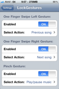 LockGestures: Jailbreak Tweak Allows You To Launch Apps And Tons Of Other Things From iPhone's Home Screen Using Multitouch Gestures