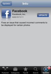 Facebook App Updated To Fix Annoying Comments Bug