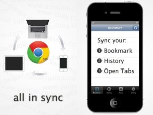 Sync Google Chrome Bookmarks, Open Tabs And History to Your iPhone With Chrome Sync Pro