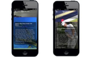 Yahoo's iPhone app Updated with News Summaries Using Summly's Technology