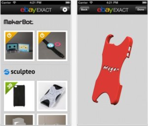 """eBay launches new """"eBay Exact"""" app to let you customise and buy 3D printed products"""