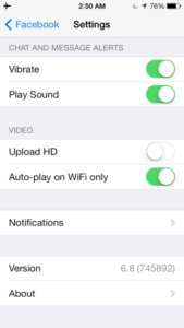 How to disable auto-play videos on Facebook for iOS when you're on 3G or 4G LTE