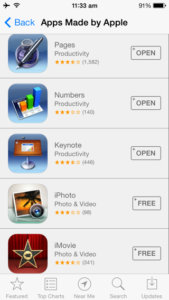 Apple offering iTunes Store credit to new customers who purchased iPhoto, iMovie, iWork apps on or after September 1