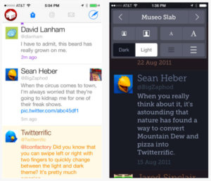 Twitter app Twitterrific for iOS goes free permanently