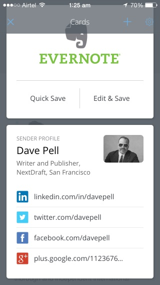 Cards let you do more with email content by harnessing the power of popular third-party apps