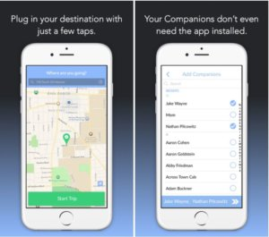 'Companion' app lets friends virtually walk each other home at night