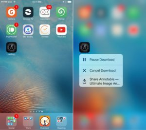 How To Cancel App Downloads Using 3D Touch in iOS 10