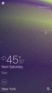 fire + rain Review: The Prettiest Weather App for iPhone
