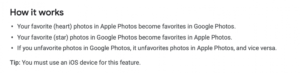 Google Photos Can Now Sync Your Favorite Images with Apple Photos App — Here's How to Enable It